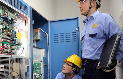美博达员工测试电梯