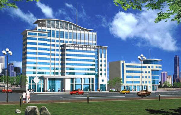南阳市建筑设计研究院综合楼